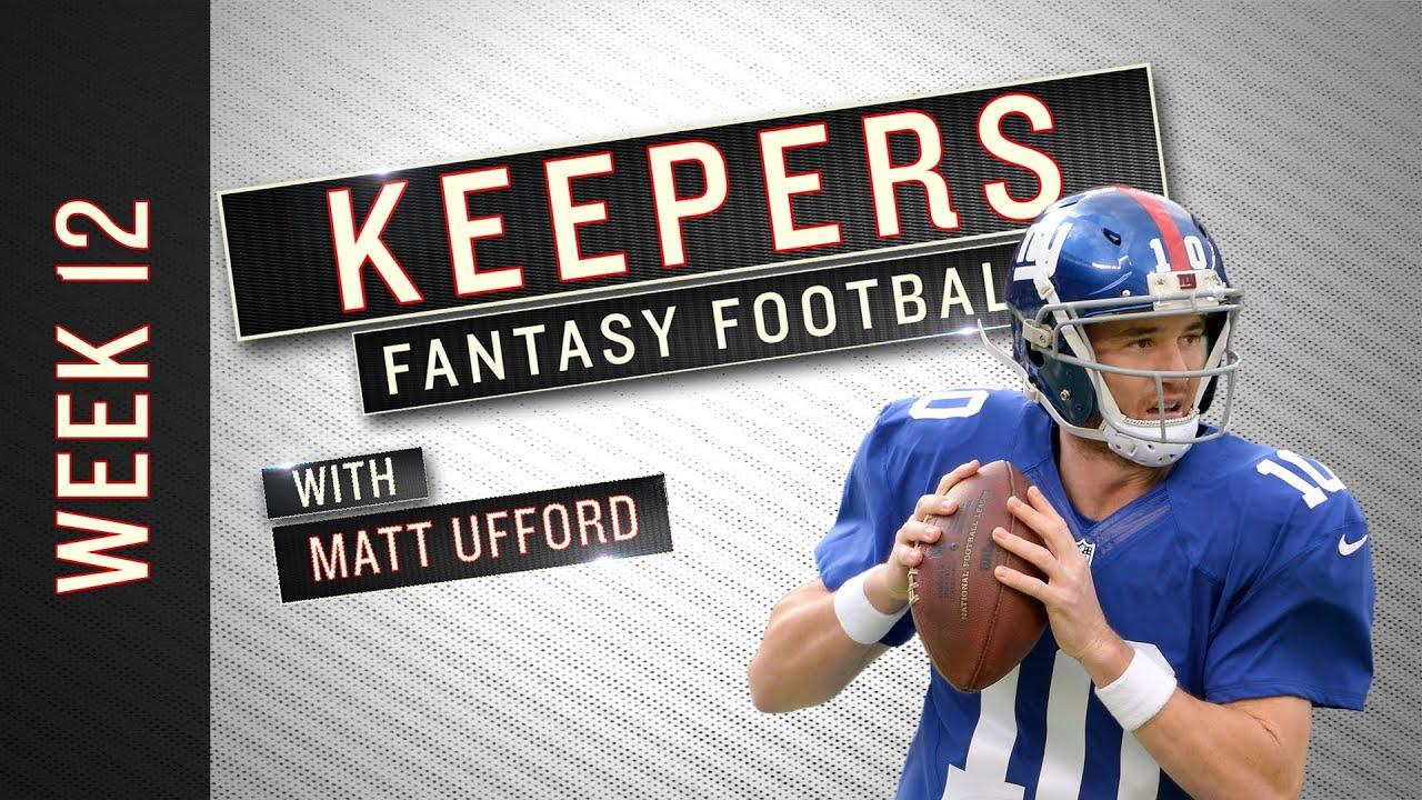 Keepers: Week 12 Fantasy Football Advice thumbnail