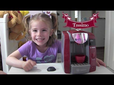 BOSCH Tassimo Kaffeemaschine mit Wasserbetrieb für die Kinderküche ♥ Review & Vorführung