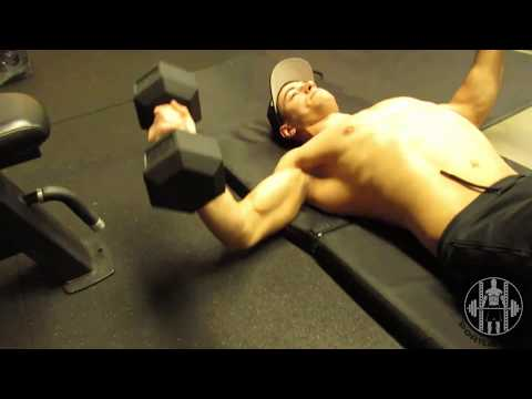 Dumbbell Floor Chest Flyes