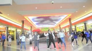Gangnam Style Edmonton WEM flash mob