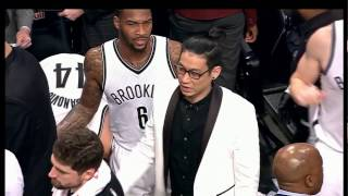 Jeremy Lin 2017-01-16 on Nets VS Rockets