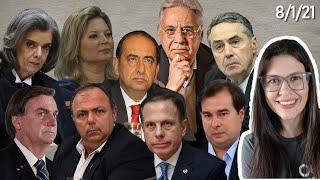 Dória, FHC, Kalil, Supremo, Pazuello, PSL, States
