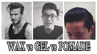 Amazing Hair Products   Wax, Pomade, Gel   Whatu0027s The Difference?