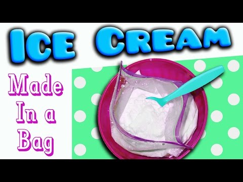 Video How to Make Ice Cream in a Bag!