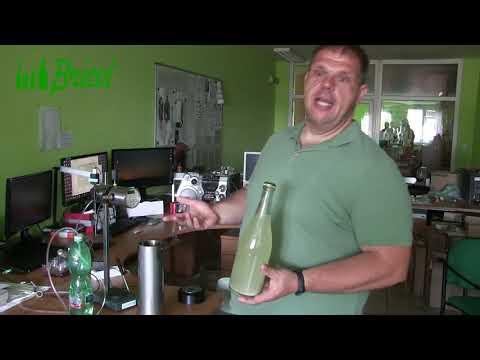Meranie tlaku vo fľaši