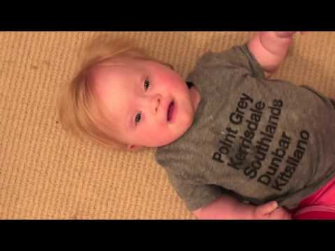 Watch videoDown Syndrome at home - Baby Kenzie