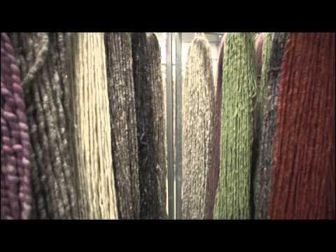 Wie ein Tisca Handwebteppich entsteht