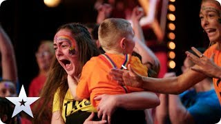 GOLDEN BUZZER! Sign Along With Us put on the GREATEST show in EMOTIONAL Audition   BGT 2020