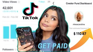 HOW TO MAKE MONEY ON TIKTOK FAST 2021 💰 EASY CREATOR FUND | GET PAID!