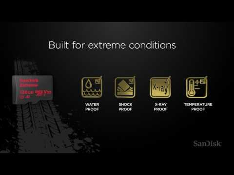 SanDisk Extreme microSD card for Action Cameras: Extreme memory for your Extreme lifestyle