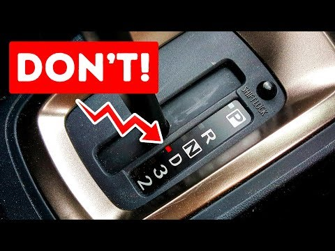 7 Things You Shouldn't Do In an Automatic Transmission Car