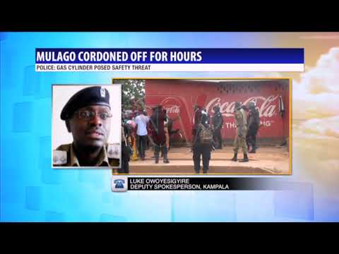 Mulago cordoned off over fears of cylinder explosion