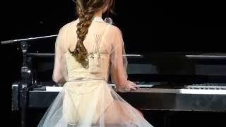Selena Gomez = Transfiguration (Hillsong Worship Cover) = #Winnipeg MTS Center - Revival Tour Live