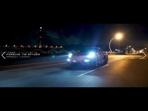 Porsche 718(982) Cayman Spyder w/ iPE Exhaust X Headers + 200 Cell Sport Cats + Titanium Muffler
