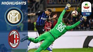 Inter Milan 1-0 AC Milan   Late Icardi Header Wins Dramatic Milan Derby!   Serie A