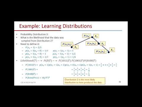 Lecture #11b: Bayesian Networks on 12/4/2019 Wed