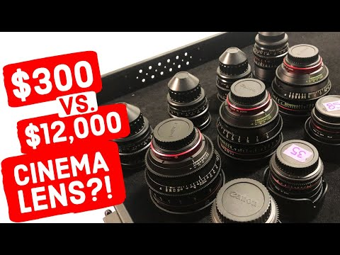 Zeiss Super Speeds vs. Canon CN-E vs. Rokinon Cinema Primes (Cinema Lens Shootout & Comparison 2020)