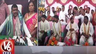 Jagadish Reddy Offer Special Prayers At Ramalingeswara Swamy At Cheruvugattu | V6 News