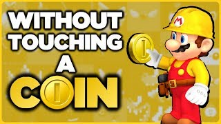 Is it possible to beat Super Mario Maker without touching a single coin?