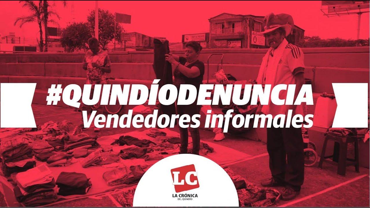 Vendedores informales, reubicados en puentes de la 26, piden garantías a la alcaldía