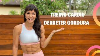 Treino SUPER CARDIO para derreter gordurinhas do natal PARTE 1 CRONOGRAMA DA SEMANA - Carol Borba