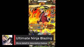 Naruto Ultimate Ninja Blazing [MOD APK 2 1 0] English