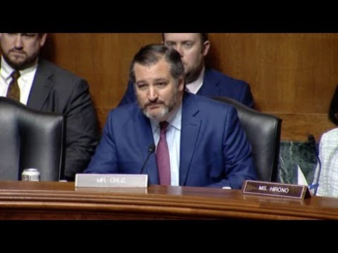 Sen. Cruz's Intro Remarks at Term Limits Hearing as Chairman