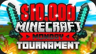$10,000 MINECRAFT Monday Tournament w/ Preston (Week 4)