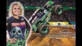 Grave Digger Girl Krysten Anderson Monster Jam Monster Truck Arena Champion Driver