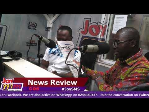 #JoySM  Newspaper Review on Joy FM (14-8-18)