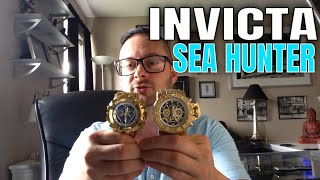 Invicta Watches Review : Invicta Gold Sea Hunter III