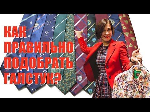 Как правильно подобрать галстук || Советы стилиста Елены Штогриной