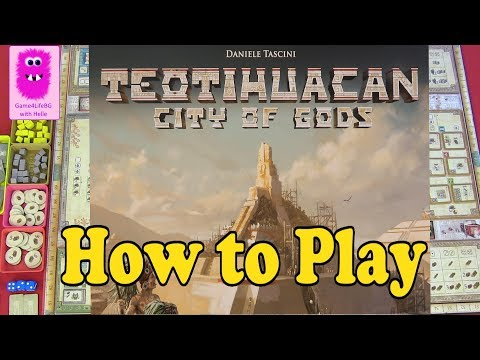 How to play - Teotihuacan: City of Gods