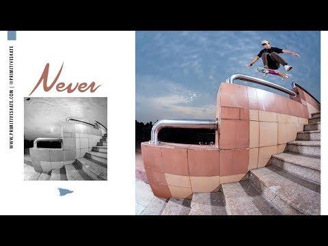 Primitive Skate Never video