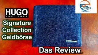 BOSS Signature Collection Geldbörse - Ein Review