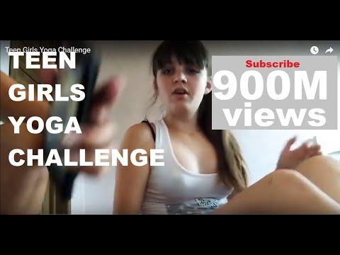 Teen Girls Yoga Challenge