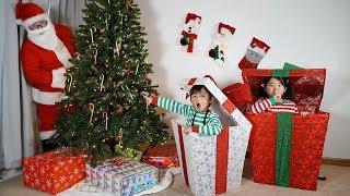 Kids Catching Santa on Christmas Morning!