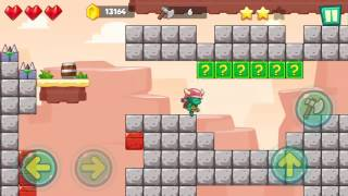 Jungle Adventures: Super World - Sahara Level 15... Gameplay (Free Game On Android)