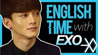 ENGLISH TIME WITH EXO (on crack)