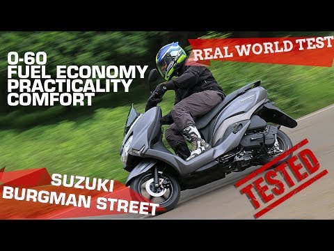 Suzuki Burgman Street 125 | Real World Road Test | ZigWheels.com