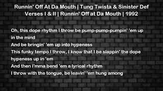 Runnin Off At Da Mouth Tung Twista