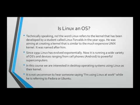 Learn Linux from Scratch - What is an Operating System