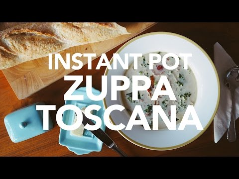 Instant Pot Pressure Cooker Zuppa Toscana