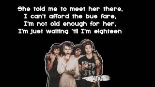 5 Seconds of Summer - 18 (Offical Lyrics Video)