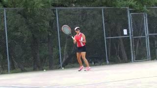 tennisbuddys,LLC Mom first coach second, training on birthday