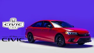 YouTube Video DO9ObICkiRI for Product Honda Civic Compact Sedan (11th-gen, 2022) by Company Honda Motor in Industry Cars