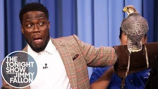 Kevin Hart struggles to keep his fear in check as Robert Irwin, 14-year-old son of Crocodile Hunter Steve Irwin, brings out some interesting animals to show him and Jimmy, including some kingsnakes, a tarantula and a falcon.  Subscribe NOW to The Tonight Show Starring Jimmy Fallon: http://bit.ly/1nwT1aN  Watch The Tonight Show Starring Jimmy Fallon Weeknights 11:35/10:35c Get more Jimmy Fallon:  Follow Jimmy: http://Twitter.com/JimmyFallon Like Jimmy: https://Facebook.com/JimmyFallon  Get more The Tonight Show Starring Jimmy Fallon:  Follow The Tonight Show: http://Twitter.com/FallonTonight Like The Tonight Show: https://Facebook.com/FallonTonight The Tonight Show Tumblr: http://fallontonight.tumblr.com/  Get more NBC:  NBC YouTube: http://bit.ly/1dM1qBH Like NBC: http://Facebook.com/NBC Follow NBC: http://Twitter.com/NBC NBC Tumblr: http://nbctv.tumblr.com/ NBC Google+: https://plus.google.com/+NBC/posts  The Tonight Show Starring Jimmy Fallon features hilarious highlights from the show including: comedy sketches, music parodies, celebrity interviews, ridiculous games, and, of course, Jimmy's Thank You Notes and hashtags! You'll also find behind the scenes videos and other great web exclusives.  Kevin Hart Is Terrified of Robert Irwin's Animals http://www.youtube.com/fallontonight  #KevinHart #KevinHartOnFallon #RobertIrwin