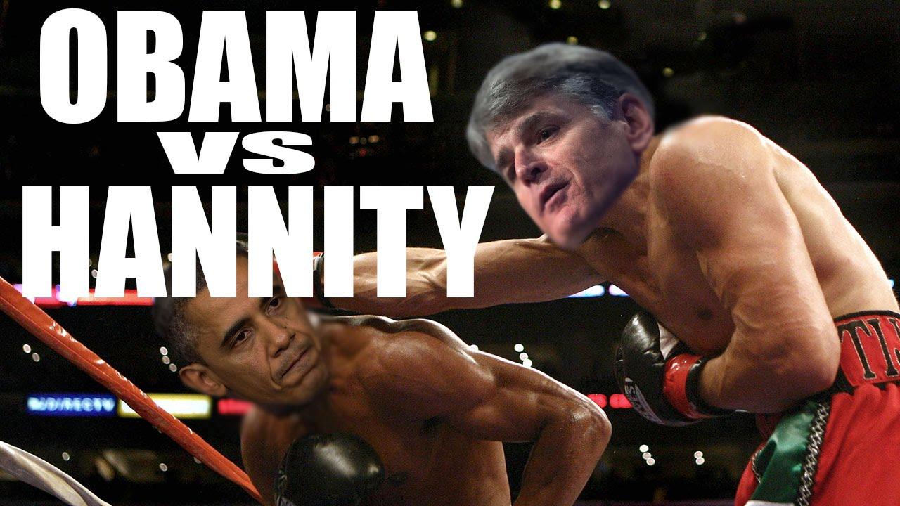 Sean Hannity's MMA Training Jab At Obama thumbnail