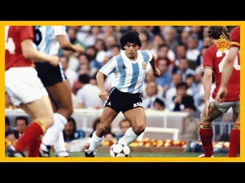 الأرجنتيني دييغو مارادونا