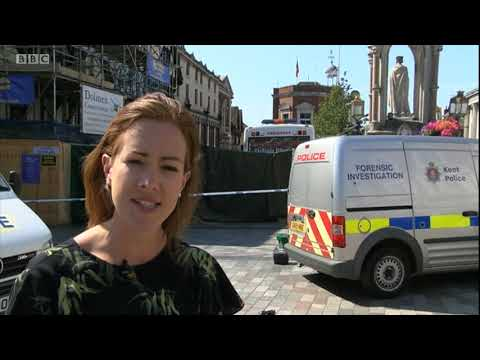 Maidstone stabbing: One dead and four injured - Amanda Akass reports